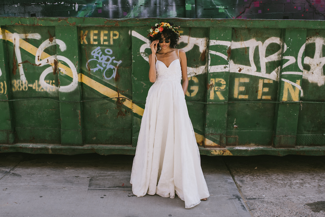 Boho Gowns & Cool Bridal Separates From The Tropical Town of Brooklyn   Loulette Bride 13