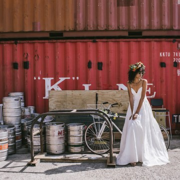 Boho Gowns & Cool Bridal Separates From The Tropical Town of Brooklyn   Loulette Bride 15