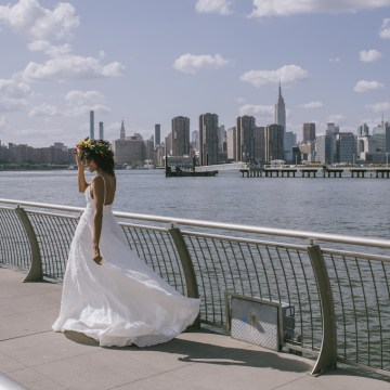 Boho Gowns & Cool Bridal Separates From The Tropical Town of Brooklyn   Loulette Bride 16