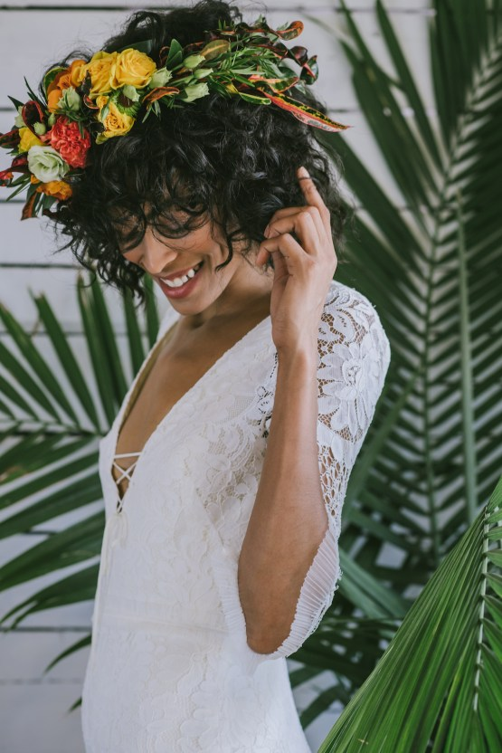 Boho Gowns & Cool Bridal Separates From The Tropical Town of Brooklyn   Loulette Bride 19