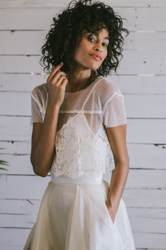 Boho Gowns & Cool Bridal Separates From The Tropical Town of Brooklyn   Loulette Bride 23