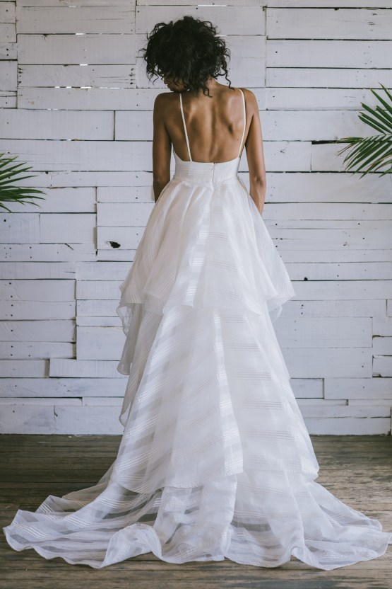 Boho Gowns & Cool Bridal Separates From The Tropical Town of Brooklyn   Loulette Bride 39