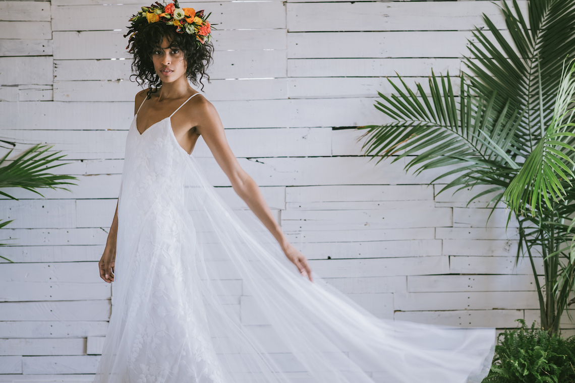 Boho Gowns & Cool Bridal Separates From The Tropical Town of Brooklyn   Loulette Bride 7