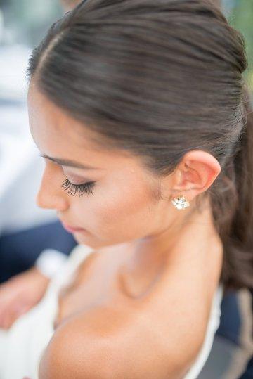 Classy Modern Rooftop Wedding Inspiration | Anna + Mateo Photography 15