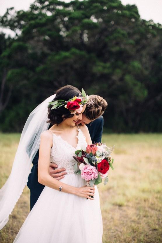 Colorful, Natural Boho Wedding (With Donuts!) | Morgan Brooks Photography 25