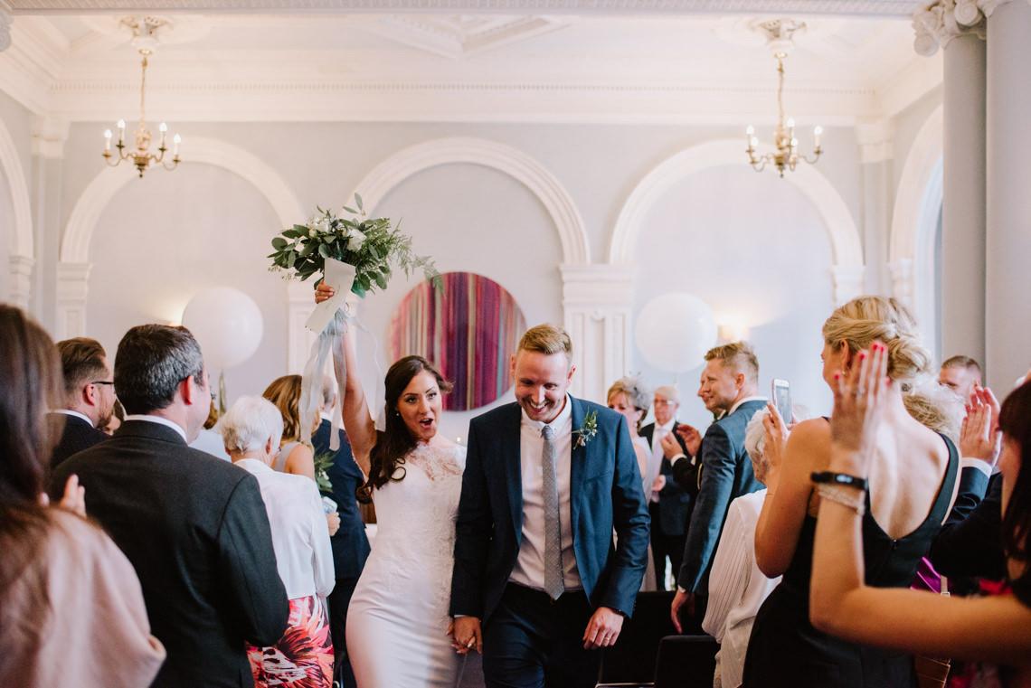 Cool, Modern London Wedding | Oliver McGivern Photography 6