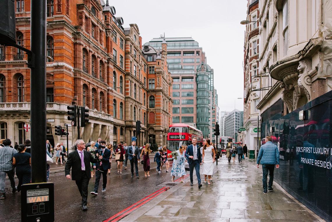 Cool, Modern London Wedding | Oliver McGivern Photography 7