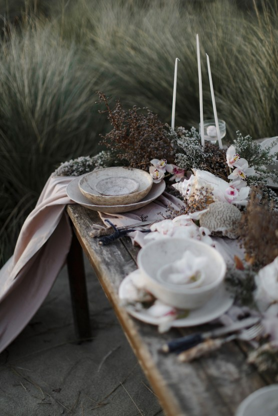 Driftwood & Seagrass, Seaside Boho Wedding Inspiration | Monica Leggio 19
