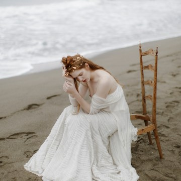 Driftwood & Seagrass, Seaside Boho Wedding Inspiration | Monica Leggio 36