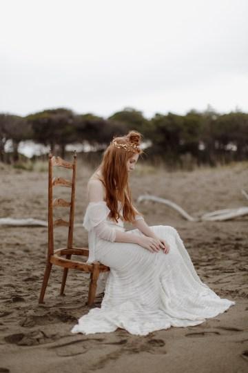Driftwood & Seagrass, Seaside Boho Wedding Inspiration | Monica Leggio 40
