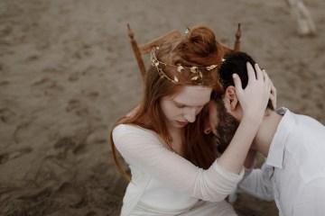 Driftwood & Seagrass, Seaside Boho Wedding Inspiration | Monica Leggio 5