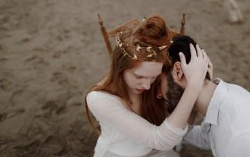 Ethereal Seaside Wedding Ideas For A Greek Goddess Bride