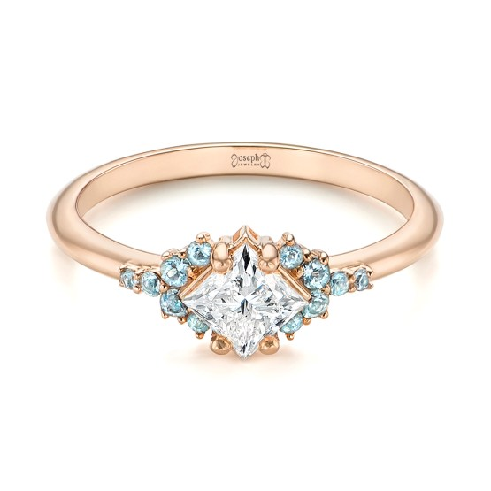 Engagement Ring 101 What's Your Ideal Diamond Ring Shape | Princess Cut | Joseph Jewelry