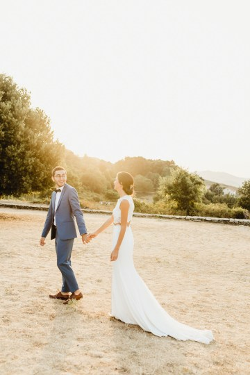 Epic Fashion Filled Wedding Weekend in Corsica | Magdalena Studios 23