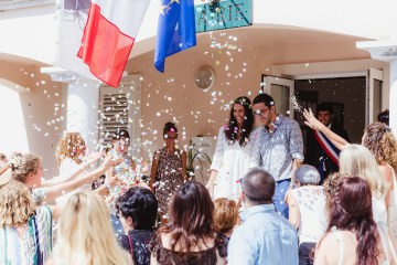 Epic Fashion Filled Wedding Weekend in Corsica | Magdalena Studios 45