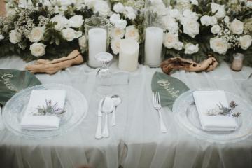 Modern & Hip Bali Wedding Featuring Sparklers & Flower Crowns | Iluminen Photography 14