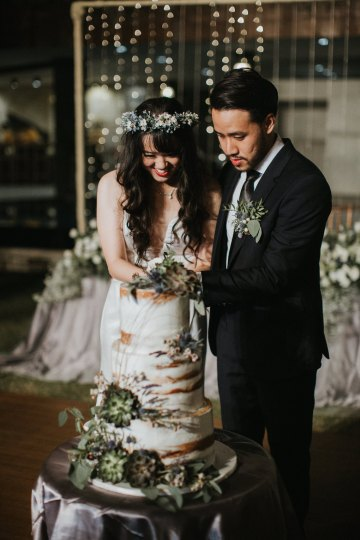 Modern & Hip Bali Wedding Featuring Sparklers & Flower Crowns | Iluminen Photography 50