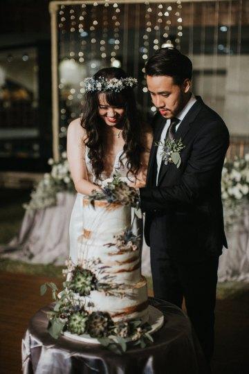 Modern & Hip Bali Wedding Featuring Sparklers & Flower Crowns | Iluminen Photography 50