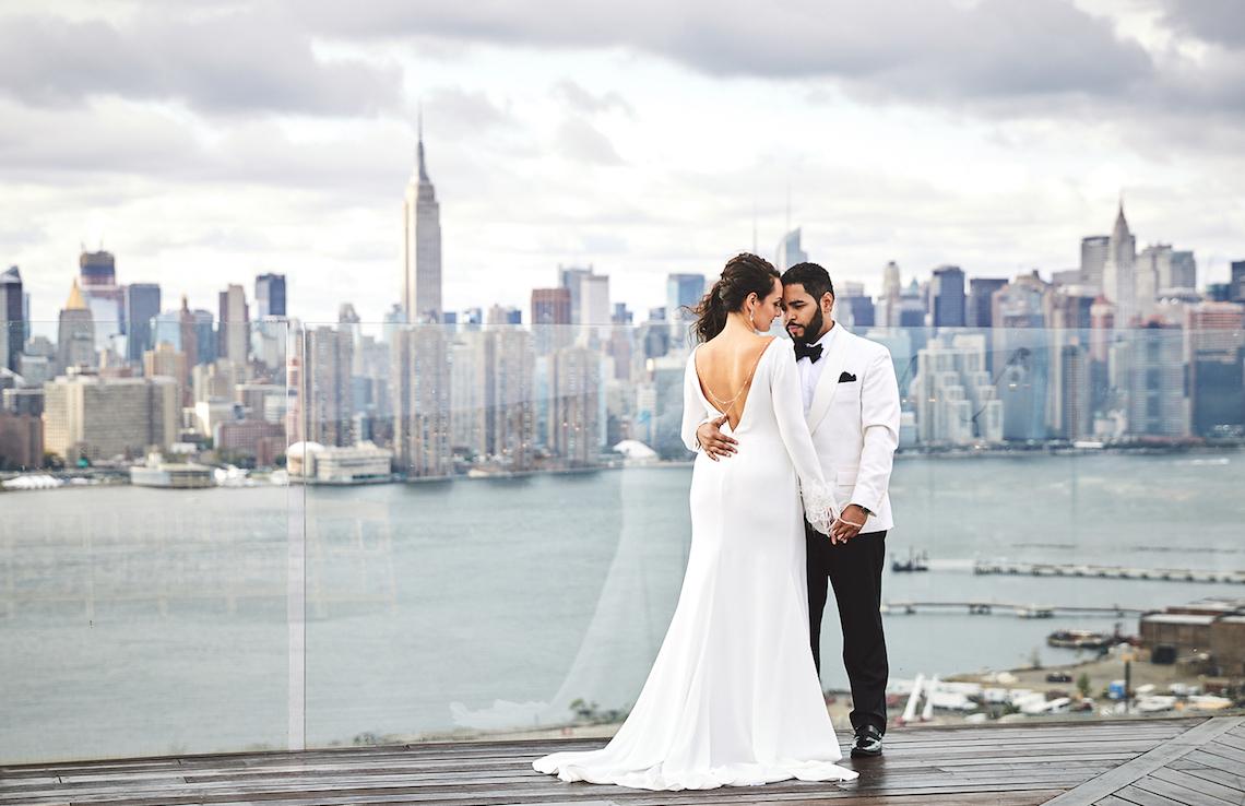 Stylish New York Wedding With Incredible City Views | Bri Johnson Photography 19