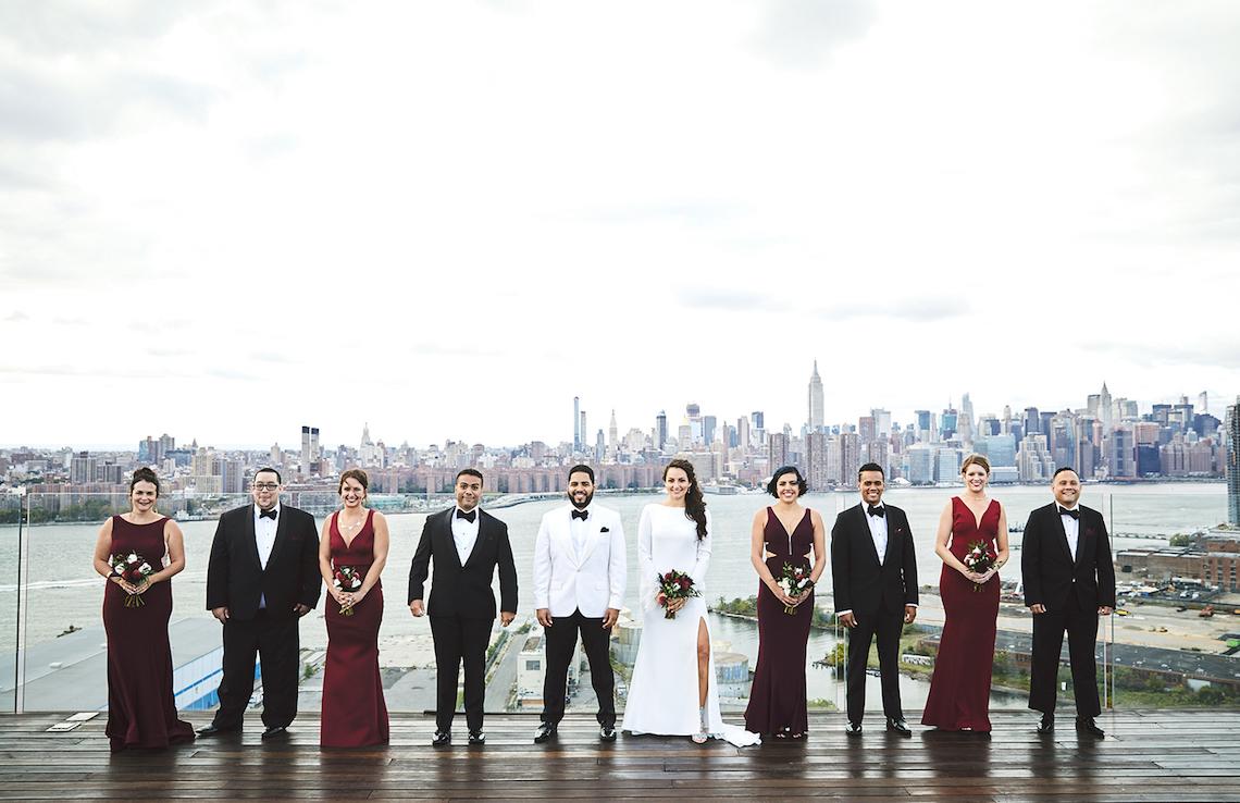 Stylish New York Wedding With Incredible City Views | Bri Johnson Photography 21