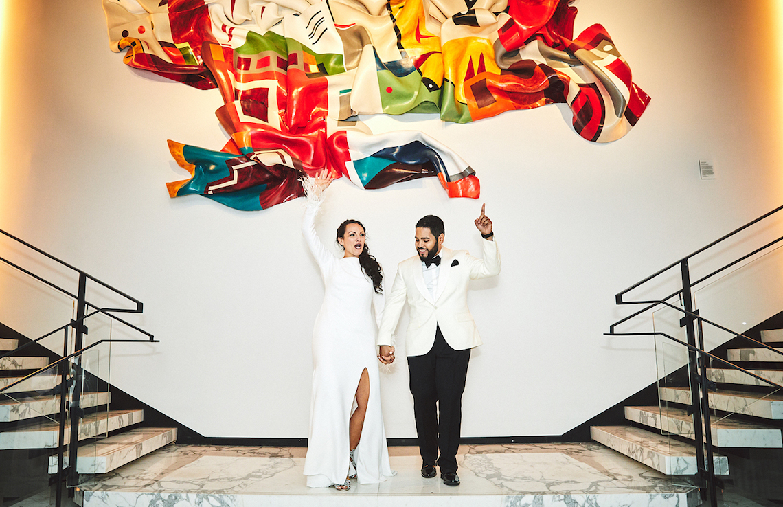 Stylish New York Wedding With Incredible City Views | Bri Johnson Photography 28