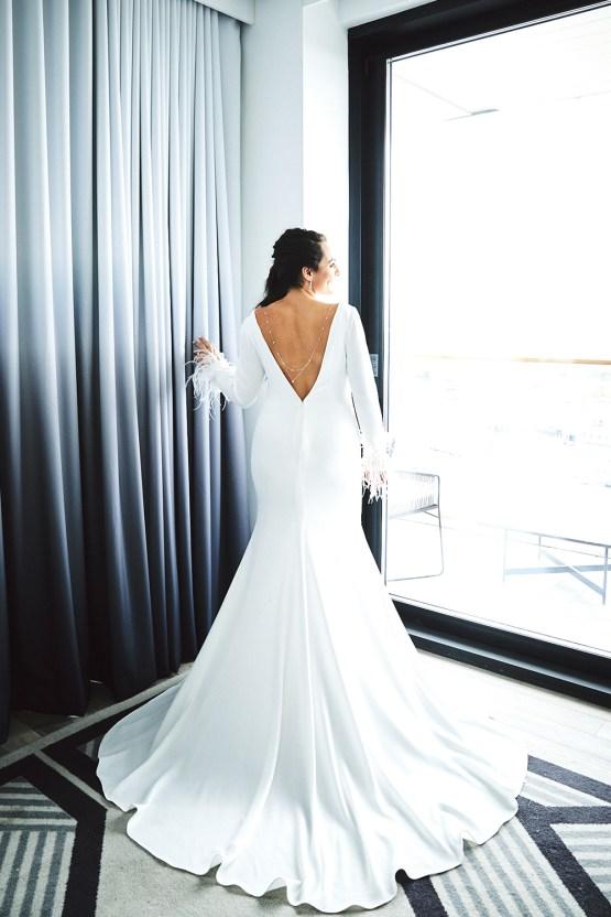 Stylish New York Wedding With Incredible City Views | Bri Johnson Photography 40