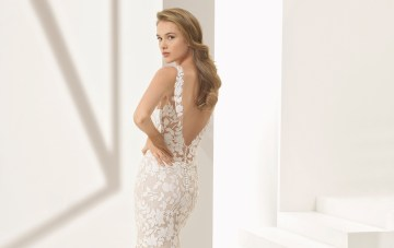 The Stunning & Sensual Rosa Clará Couture Wedding Dress Collection