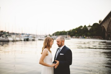 Tropical Urban Rooftop Wedding In Seattle | The Shalom Imaginative 15