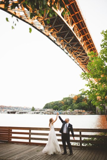 Tropical Urban Rooftop Wedding In Seattle | The Shalom Imaginative 47
