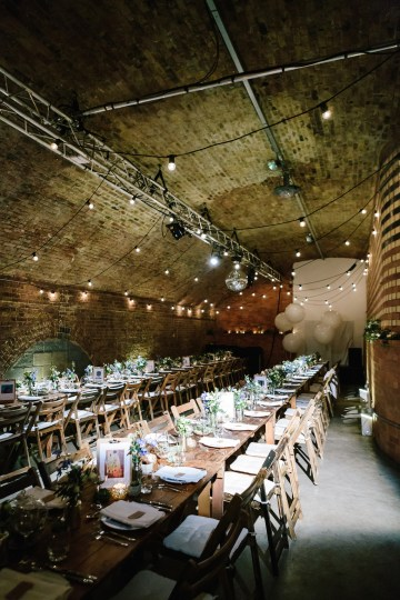Underground Gallery Wedding In London With Cool, Flashy Signage | Studio 1208 Photography 28