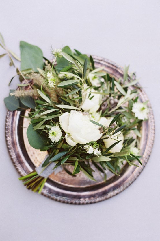 Vintage Lace; Pretty Wedding Ideas Featuring A Crepe Cake & Lamb's Ear Bouquet   Nathalie Cheng 17