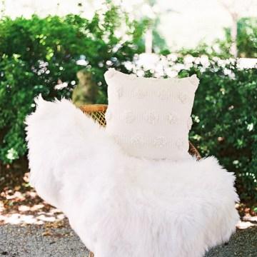 Vintage Lace; Pretty Wedding Ideas Featuring A Crepe Cake & Lamb's Ear Bouquet   Nathalie Cheng 20
