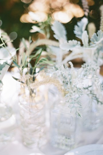 Vintage Lace; Pretty Wedding Ideas Featuring A Crepe Cake & Lamb's Ear Bouquet | Nathalie Cheng 26