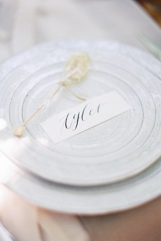 Vintage Lace; Pretty Wedding Ideas Featuring A Crepe Cake & Lamb's Ear Bouquet   Nathalie Cheng 27