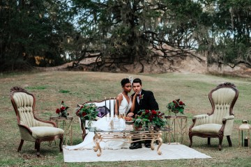 Woodsy Jewel-Toned Wedding Ideas (With A Circle Arch!) | Grind & Press Photography 11