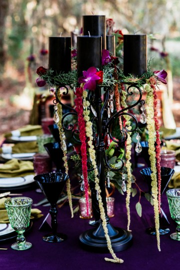 Woodsy Jewel-Toned Wedding Ideas (With A Circle Arch!) | Grind & Press Photography 19