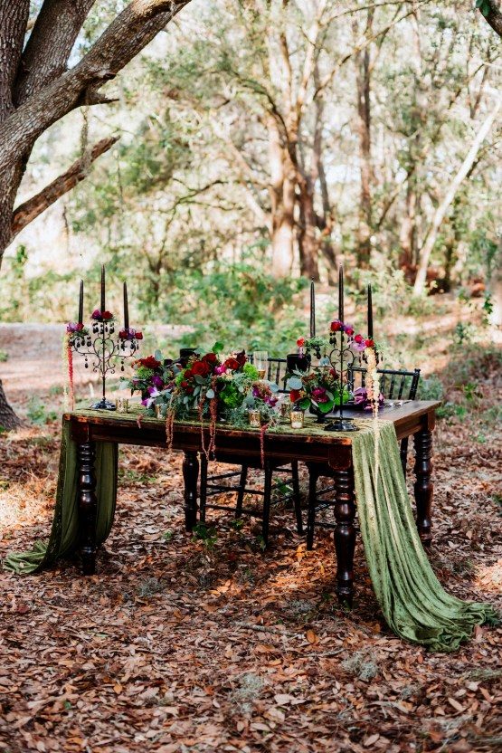 Woodsy Jewel-Toned Wedding Ideas (With A Circle Arch!) | Grind & Press Photography 23