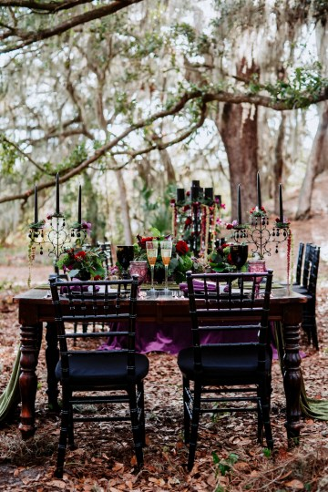 Woodsy Jewel-Toned Wedding Ideas (With A Circle Arch!) | Grind & Press Photography 26