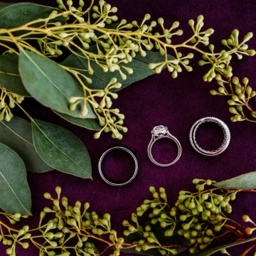 Woodsy Jewel-Toned Wedding Ideas (With A Circle Arch!) | Grind & Press Photography 3