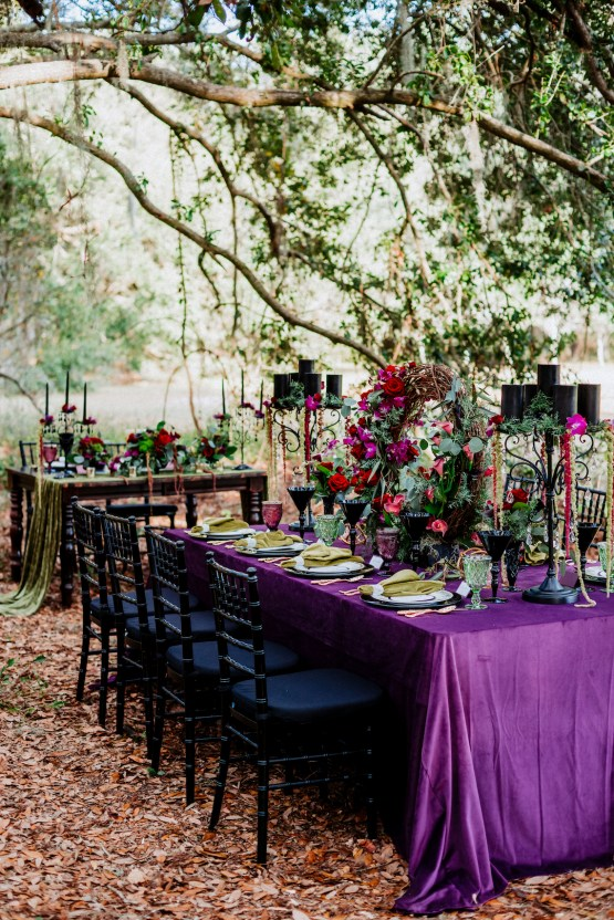 Woodsy Jewel-Toned Wedding Ideas (With A Circle Arch!) | Grind & Press Photography 31