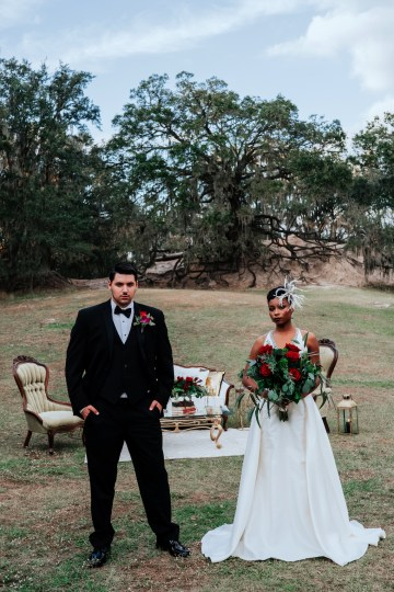 Woodsy Jewel-Toned Wedding Ideas (With A Circle Arch!) | Grind & Press Photography 57