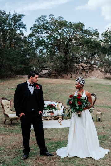 Woodsy Jewel-Toned Wedding Ideas (With A Circle Arch!) | Grind & Press Photography 58