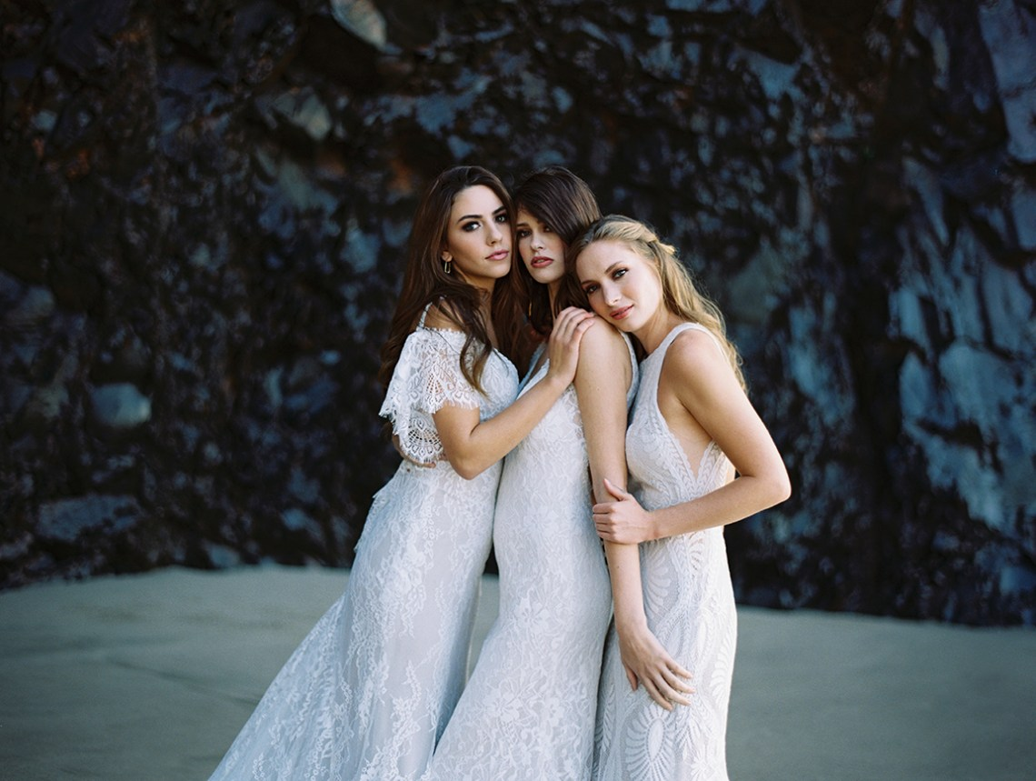Allure Bridal's Dreamy Boho Wilderly Bride Wedding Dress Collection (And Giveaway!) | Brumwell Wells Photography 1