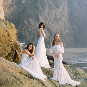 Allure Bridal's Dreamy Boho Wilderly Bride Wedding Dress Collection (And Giveaway!) | Brumwell Wells Photography 5