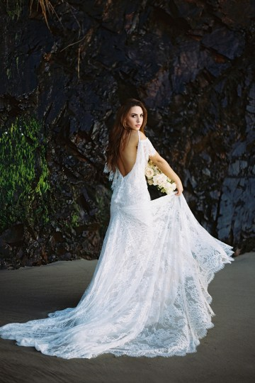 Allure Bridal's Dreamy Boho Wilderly Bride Wedding Dress Collection (And Giveaway!)   Brumwell Wells Photography   Layla 1
