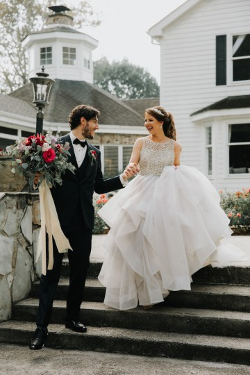Classic Romance; A Heartfelt Wedding Filled With Red Roses | T & K Photography 35