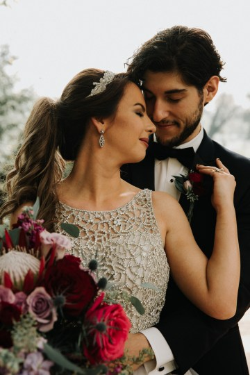 Classic Romance; A Heartfelt Wedding Filled With Red Roses | T & K Photography 42