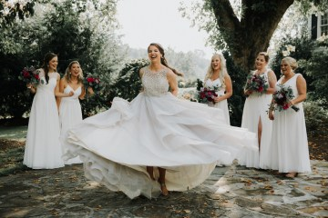 Classic Romance; A Heartfelt Wedding Filled With Red Roses | T & K Photography 6