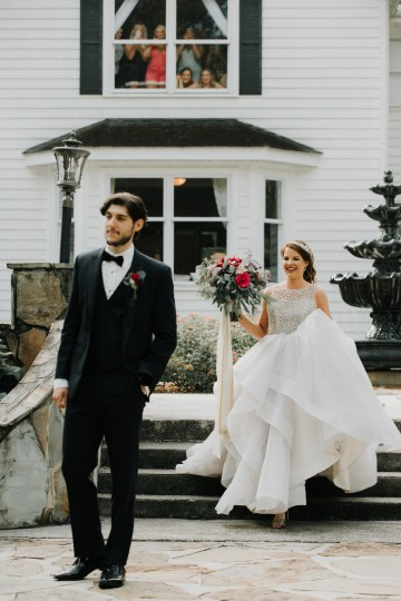 Classic Romance; A Heartfelt Wedding Filled With Red Roses | T & K Photography 65