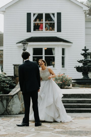 Classic Romance; A Heartfelt Wedding Filled With Red Roses | T & K Photography 66
